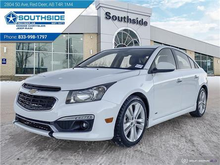 2015 Chevrolet Cruze LTZ (Stk: W2117BB) in Red Deer - Image 1 of 25