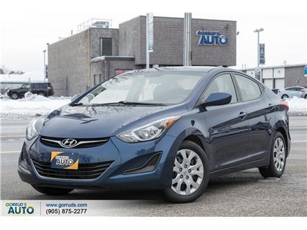 2016 Hyundai Elantra GL (Stk: 673924) in Milton - Image 1 of 18