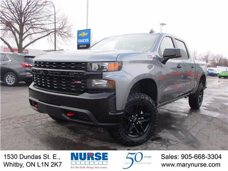 2021 Chevrolet Silverado 1500 Silverado Custom Trail Boss (Stk: 21P071) in Whitby - Image 1 of 24