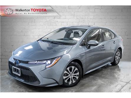 2021 Toyota Corolla Hybrid Base w/Li Battery (Stk: 21002) in Walkerton - Image 1 of 17
