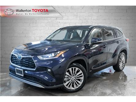 2021 Toyota Highlander Hybrid Limited (Stk: 21115) in Walkerton - Image 1 of 20