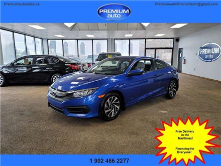 2016 Honda Civic LX (Stk: ) in Dartmouth - Image 1 of 13