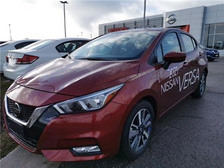 2021 Nissan Versa SV (Stk: CML832571) in Cobourg - Image 1 of 4