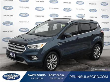 2018 Ford Escape Titanium (Stk: 2177) in Owen Sound - Image 1 of 25