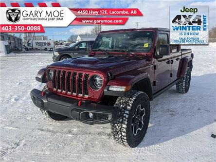 2021 Jeep Gladiator Rubicon (Stk: F212596) in Lacombe - Image 1 of 17