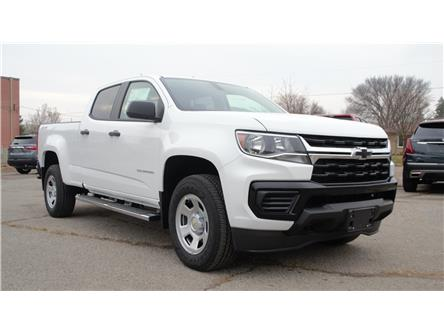 2021 Chevrolet Colorado WT (Stk: T1178330) in Oshawa - Image 1 of 18
