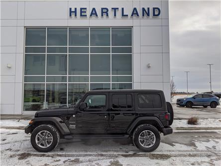 2020 Jeep Wrangler Unlimited Sahara (Stk: B10904) in Fort Saskatchewan - Image 1 of 27