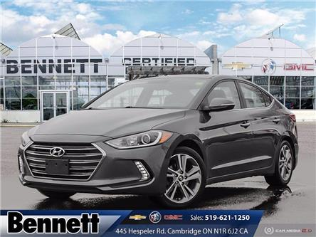 2017 Hyundai Elantra Limited (Stk: 210243A) in Cambridge - Image 1 of 27