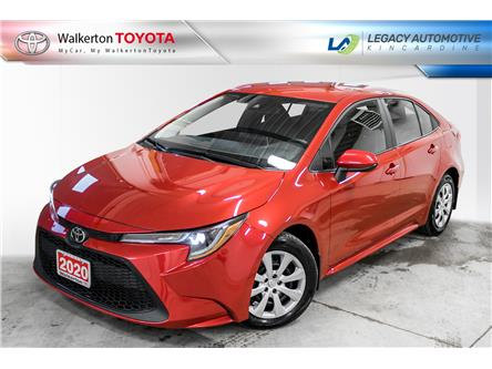 2020 Toyota Corolla LE (Stk: P9072) in Walkerton - Image 1 of 18