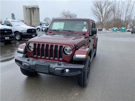 2021 Jeep Wrangler Unlimited Sahara (Stk: N04948) in Chatham - Image 1 of 15