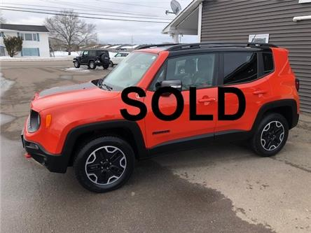 2016 Jeep Renegade Trailhawk (Stk: ) in Sussex - Image 1 of 27