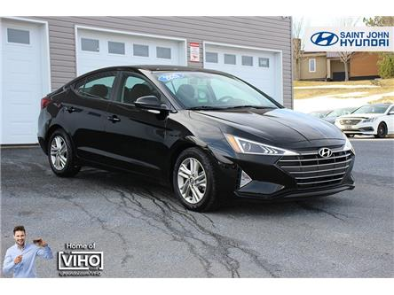 2020 Hyundai Elantra Preferred (Stk: U2983) in Saint John - Image 1 of 19
