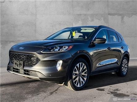 2020 Ford Escape Titanium Hybrid (Stk: 9883) in Quesnel - Image 1 of 25