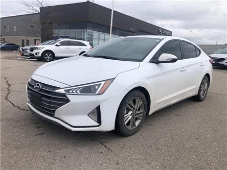 2020 Hyundai Elantra Preferred w/Sun & Safety Package (Stk: 36565a) in Brampton - Image 1 of 16