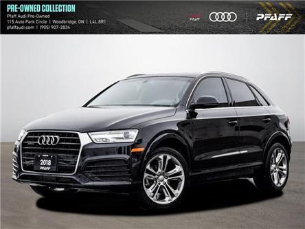 2018 Audi Q3 2.0T Progressiv (Stk: C8021) in Vaughan - Image 1 of 21