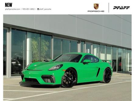 2021 Porsche 718 Cayman GT4 PDK (Stk: P16467) in Vaughan - Image 1 of 22
