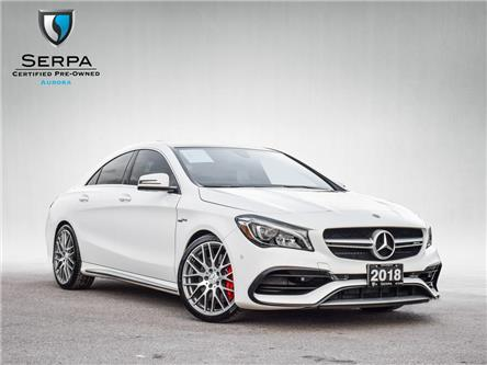 2018 Mercedes-Benz AMG CLA 45 Base (Stk: P1489) in Aurora - Image 1 of 30