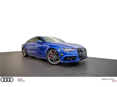 2017 Audi S7 4.0T (Stk: 53785A) in Ottawa - Image 1 of 20