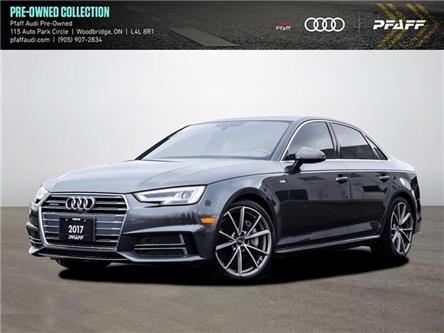 2017 Audi A4 2.0T Technik (Stk: C8081) in Woodbridge - Image 1 of 20