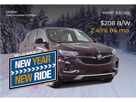 2021 Buick Encore GX Preferred (Stk: M01090) in Watrous - Image 1 of 41