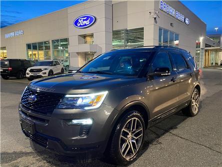 2018 Ford Explorer Sport (Stk: OP2106) in Vancouver - Image 1 of 28