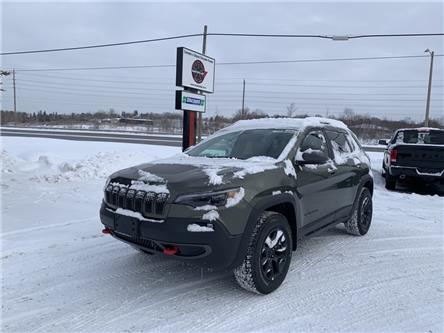 2021 Jeep Cherokee Trailhawk (Stk: 6598) in Sudbury - Image 1 of 20