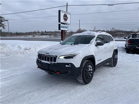 2021 Jeep Cherokee Trailhawk (Stk: 6609) in Sudbury - Image 1 of 20