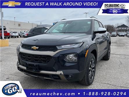 2021 Chevrolet TrailBlazer ACTIV (Stk: 21-0283) in LaSalle - Image 1 of 6