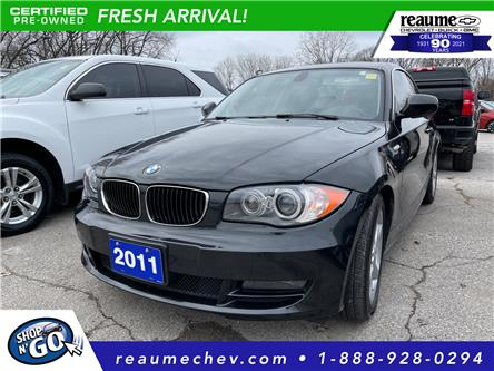 2011 BMW 128i  (Stk: 20-0440A) in LaSalle - Image 1 of 2