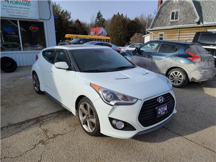 2014 Hyundai Veloster Tech (Stk: DF1653) in Sudbury - Image 1 of 16