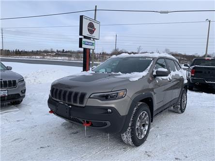 2021 Jeep Cherokee Trailhawk (Stk: 6680) in Sudbury - Image 1 of 18
