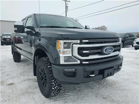 2021 Ford F-350 Platinum (Stk: 21104) in Wilkie - Image 1 of 27