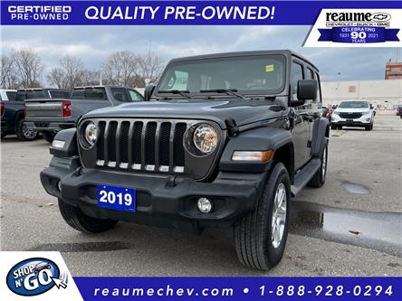 2019 Jeep Wrangler Unlimited Sport (Stk: L-4411A) in LaSalle - Image 1 of 28