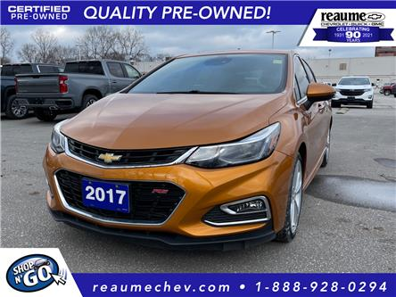 2017 Chevrolet Cruze Hatch Premier Auto (Stk: L-4466) in LaSalle - Image 1 of 27