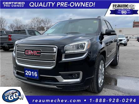2016 GMC Acadia Denali (Stk: 21-0186A) in LaSalle - Image 1 of 29