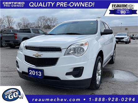 2013 Chevrolet Equinox LS (Stk: 21-0095A) in LaSalle - Image 1 of 24