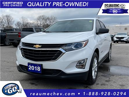 2018 Chevrolet Equinox LS (Stk: L-4469) in LaSalle - Image 1 of 26