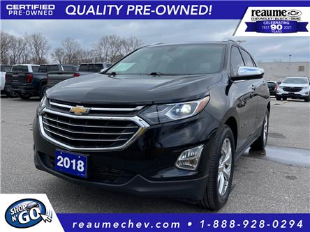 2018 Chevrolet Equinox Premier (Stk: 21-0090A) in LaSalle - Image 1 of 26
