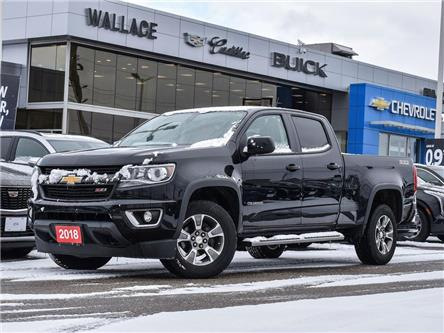 2018 Chevrolet Colorado Crew Z71, NAV W/ BOSE, Heat sts, V6, RMT Start (Stk: PL5359) in Milton - Image 1 of 22