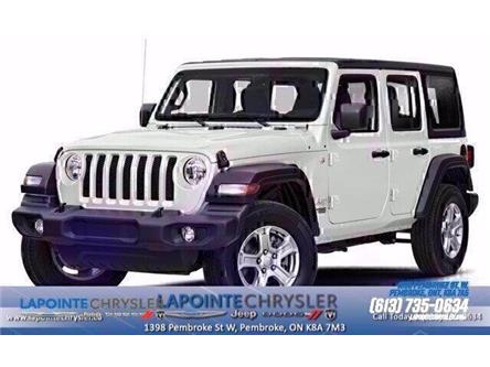 2019 Jeep Wrangler Unlimited Sahara (Stk: 19439) in Pembroke - Image 1 of 9