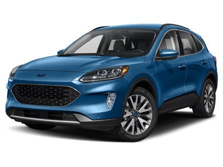 2021 Ford Escape Titanium Hybrid (Stk: MUA12892) in Wallaceburg - Image 1 of 9