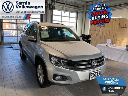 2017 Volkswagen Tiguan Wolfsburg Edition (Stk: VU1074) in Sarnia - Image 1 of 21