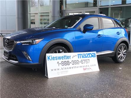 2016 Mazda CX-3 GT (Stk: 37219A) in Kitchener - Image 1 of 30