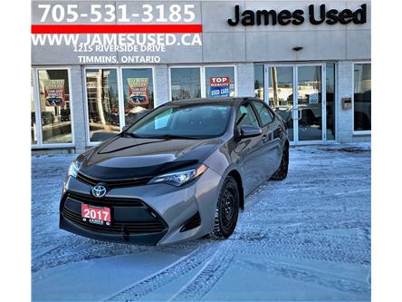 2017 Toyota Corolla LE (Stk: N21140A) in Timmins - Image 1 of 14