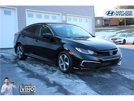 2019 Honda Civic LX (Stk: U2870A) in Saint John - Image 1 of 19