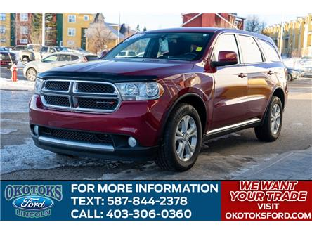 2013 Dodge Durango SXT (Stk: B84065) in Okotoks - Image 1 of 22