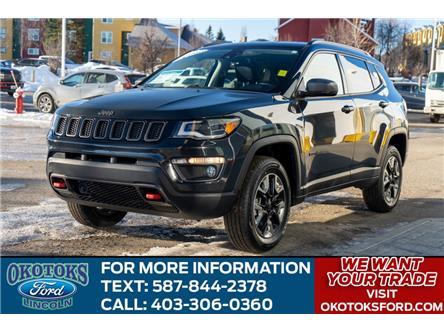 2018 Jeep Compass Trailhawk (Stk: B84068) in Okotoks - Image 1 of 26
