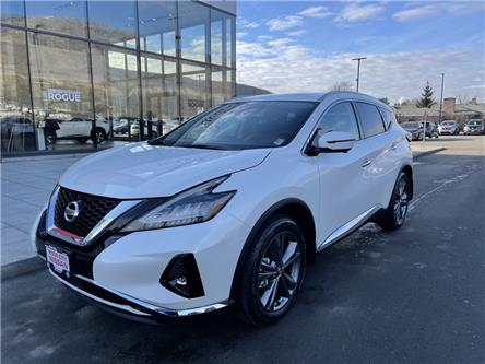 2021 Nissan Murano Platinum (Stk: T21026) in Kamloops - Image 1 of 27