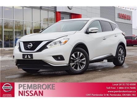 2016 Nissan Murano Platinum (Stk: 20197A) in Pembroke - Image 1 of 30