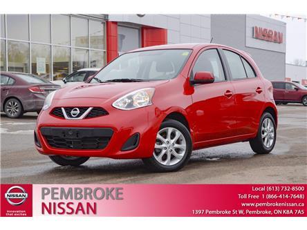 2018 Nissan Micra SV (Stk: 21008A) in Pembroke - Image 1 of 26